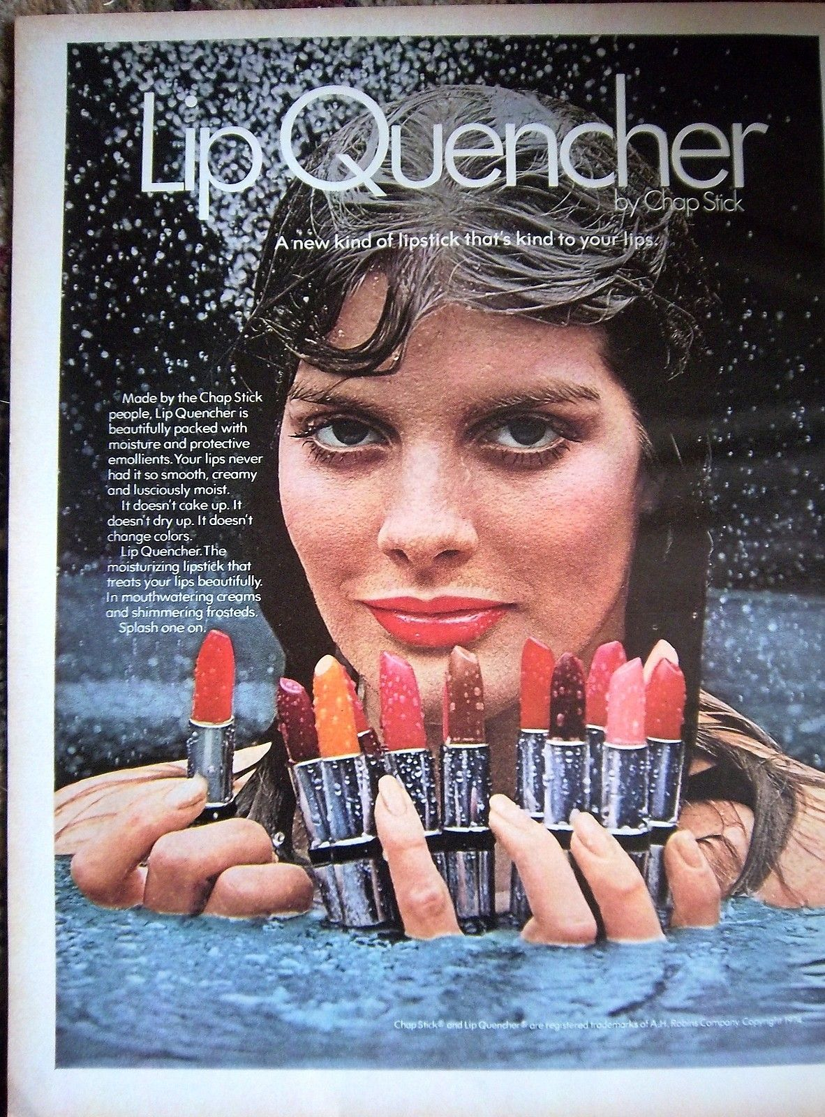 I would pay big bucks for Lip Quencher lipstick. Thought