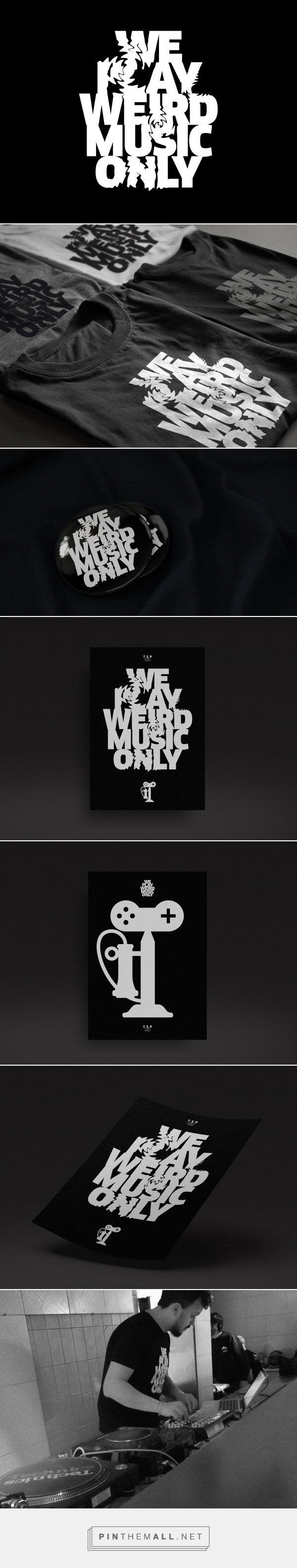 We play weird music only TSP on Behance... - a grouped images picture - Pin Them All
