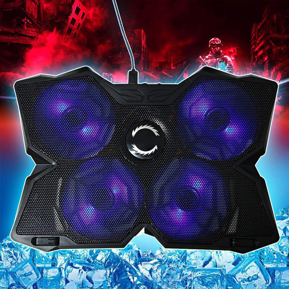Cool Cold Usb Four Fans Laptop Pc Base Cooling Pad Cooler Radiator