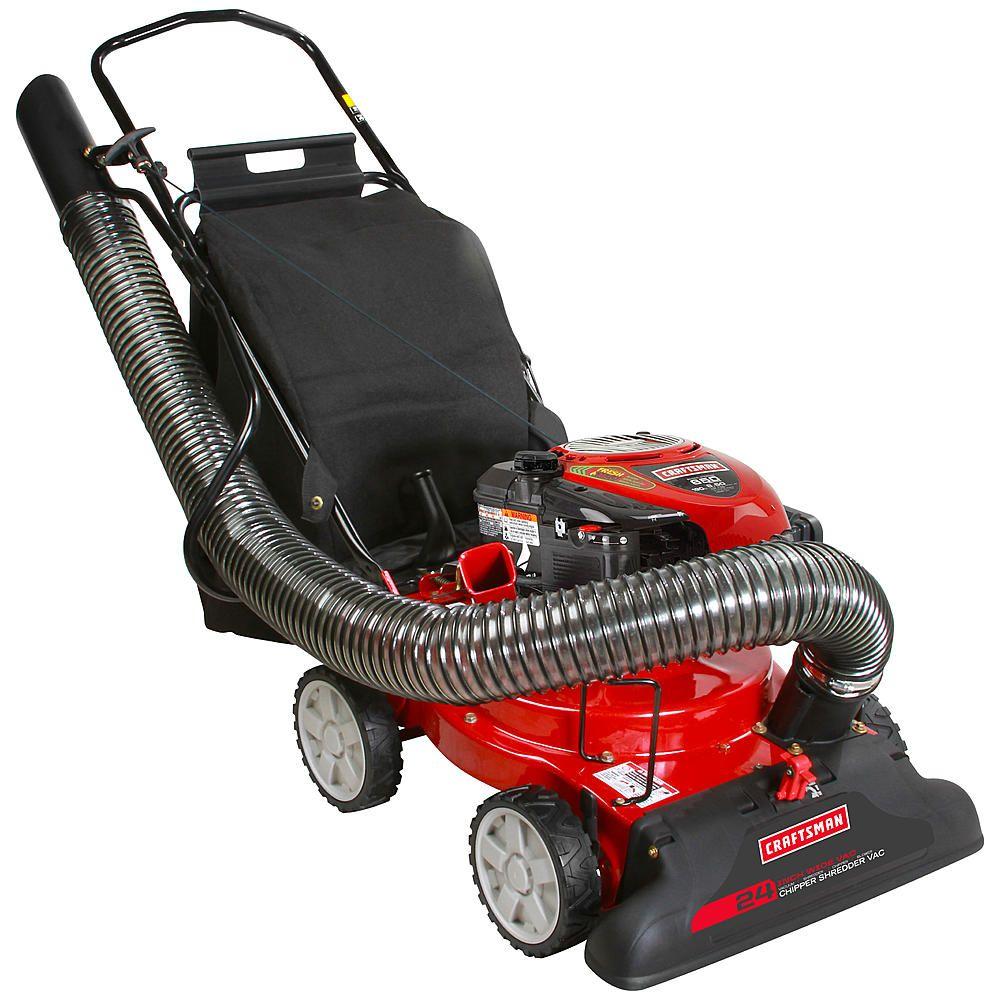 Craftsman 24a060h799 24 190cc 4in1 chipper shredder
