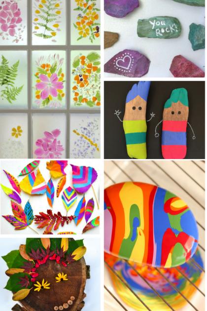 Bold Beautiful Nature Art Ideas For Kids Projets A Essayer