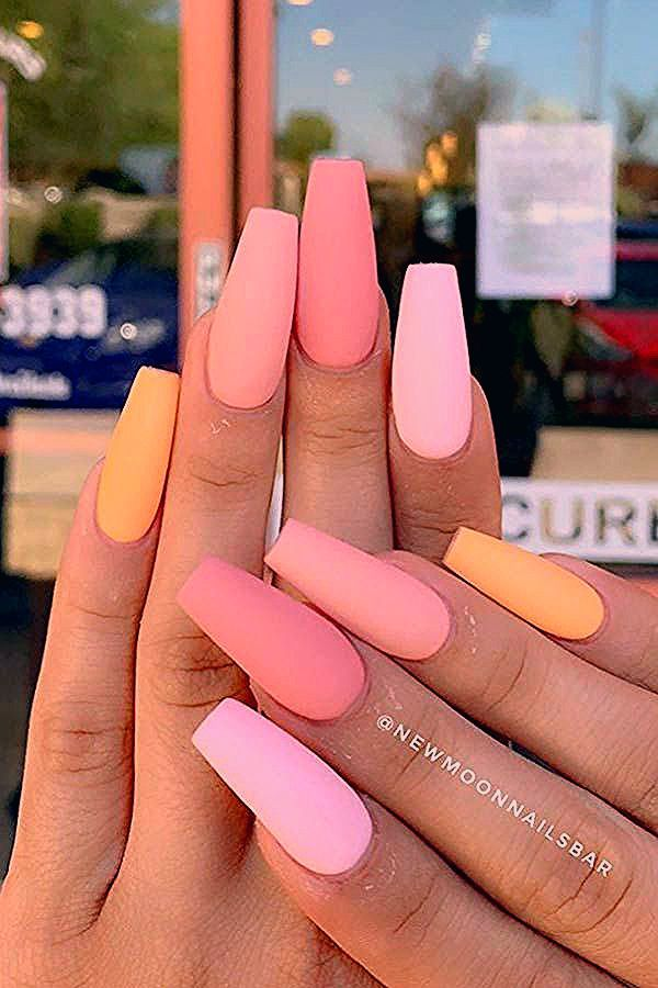 Photo of 43 Nail Designs and Ideas for Coffin Acrylic Nails | StayGlam
