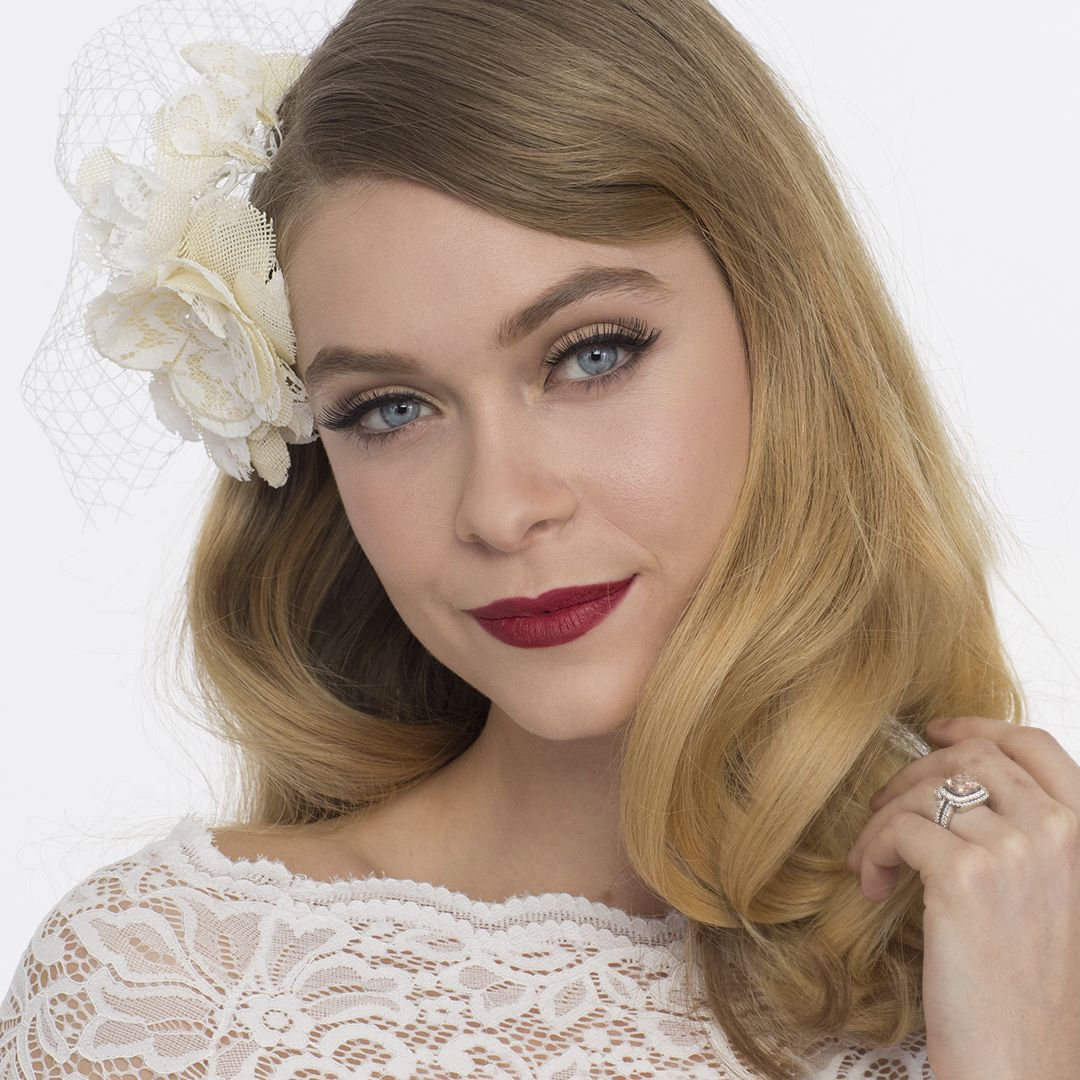Old Hollywood Wedding Makeup Tutorial Maquillage