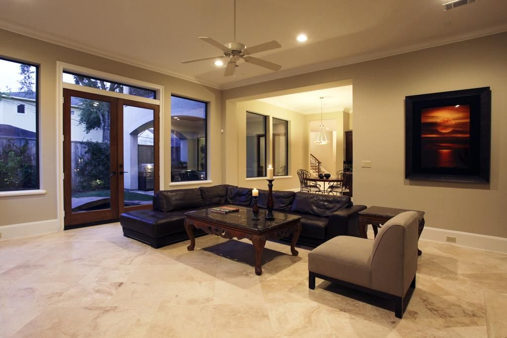 Living Rooms With Travertine Floors Google Search Decor Ideas