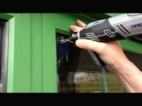 ▶ get the mist out. Condensation Removal From Failed Double Glazing - YouTube