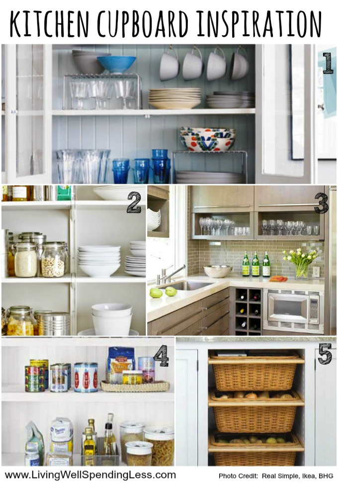 31 Days To A Clutter Free Life Kitchen Cupboards Day 11 Ocd