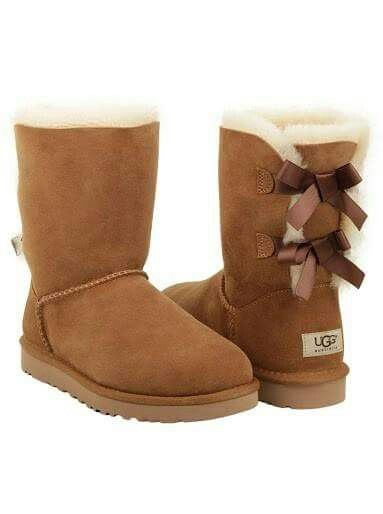 brown ugg style boots