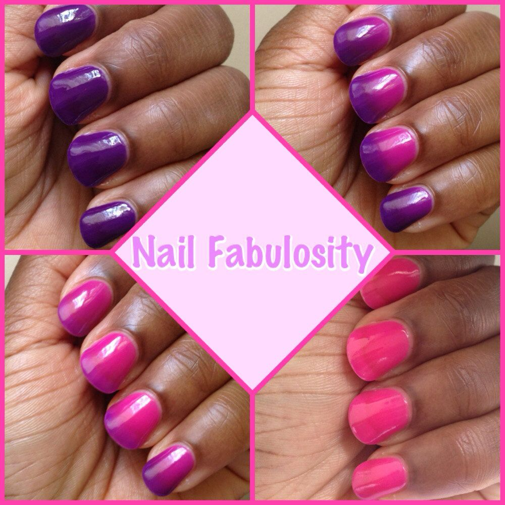 Butterfly Kisses - THERMAL Nail Polish   Butterfly kisses ...