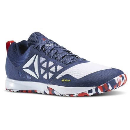 Reebok CrossFit Nano 6.0 Liberty Pack Men's Training Shoes in Pride-Blue,  White, Red