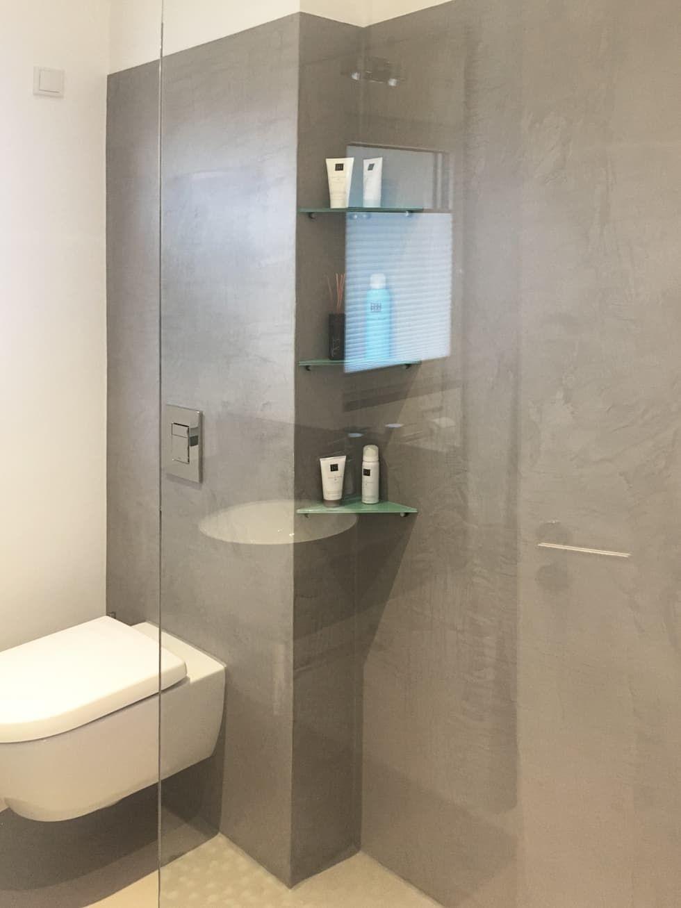 Fugenlose oberflächengestaltung moderne badezimmer von ...