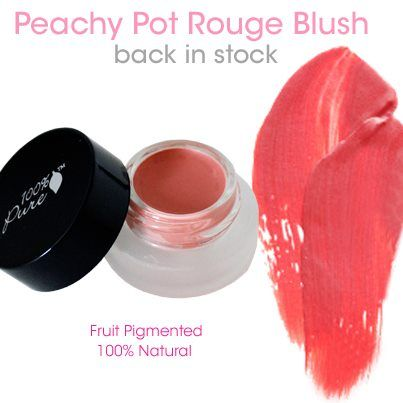 Fruit pigmented blush by100% pure