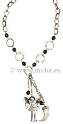 2e779d67d897 Modelos de collares con colgantes de ZAMAK bañados en plata. | Cómo ...