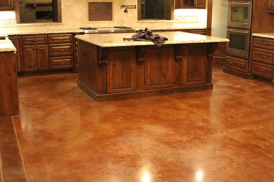 Stained Concrete Floors Google Search Wallace Garage