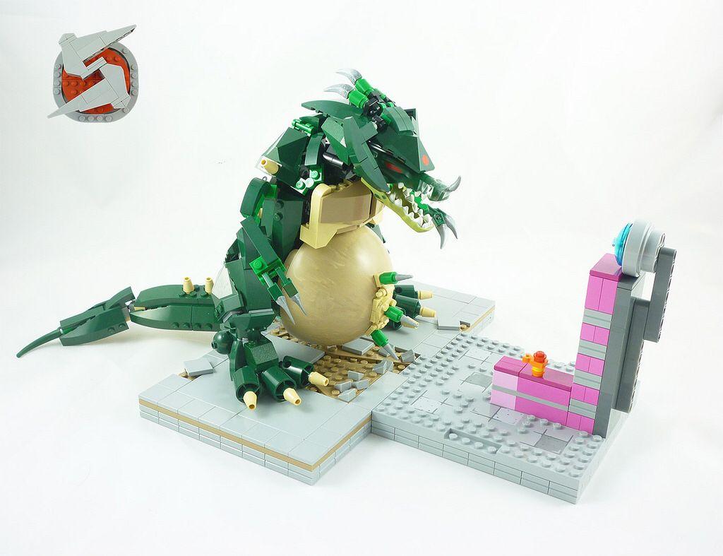 LEGO Metroid: Kraid!! | LEGO Animals & Creatures ...