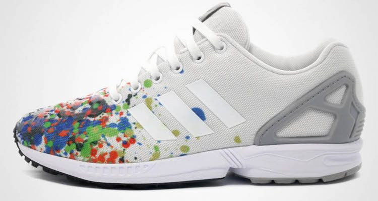 "d7d3d8912219 The adidas ZX Flux ""Splattered Toe"" Is Dropping Next Month"