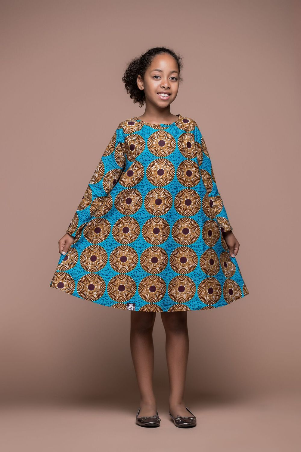 African Print Dinefa Kid S Dress African Clothing For