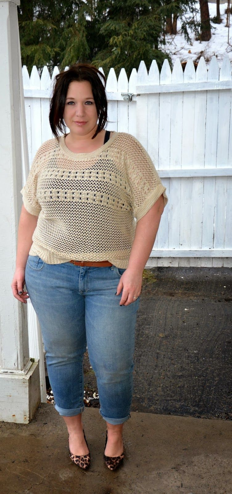 Full Figured & Fashionable: MESSY CHIC Plus size fashion ...
