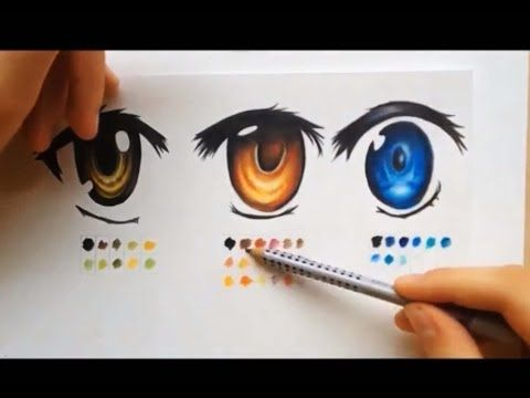 How To Color Using Colored Pencils Manga Eyes Manga Eyes Anime Eyes Anime Drawings