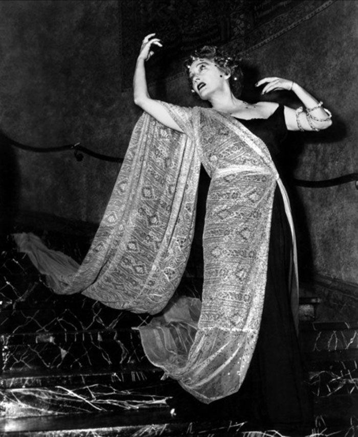 """Gloria Swanson en""""El Crepúsculo de los Dioses"""" (Sunset Boulevard), 1950"""