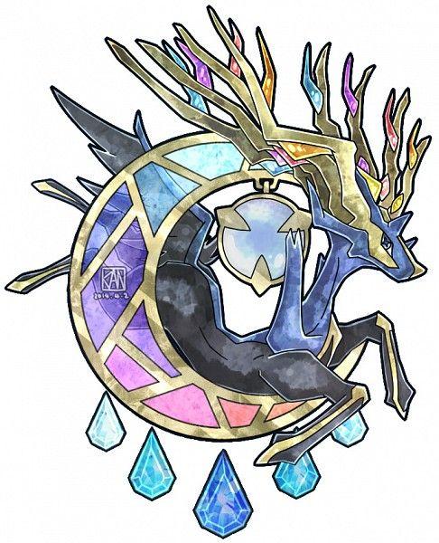 Xerneas The First Fairy Ledgendary Arte Pokemon O Pokemon