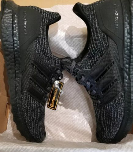 Details about Adidas Ultra Boost Ultraboost 4.0 Triple All Black ... 53e4889c8