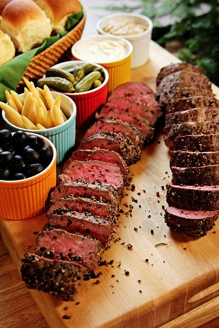 Food from the Christmas Show! | Beef tenderloin recipes ...