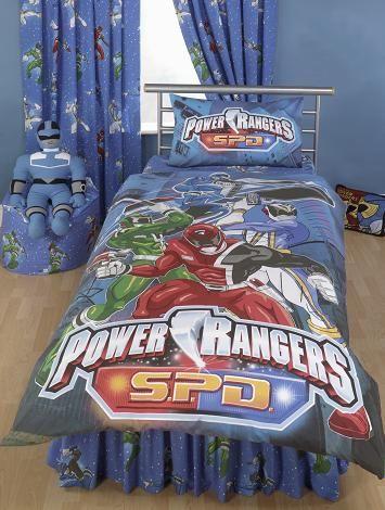 Power Rangers Bedding Kids Bedroom Decor Toddler Boy Room Decor