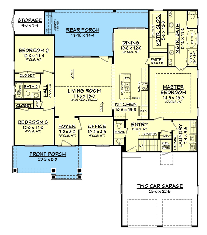Plan 51738hz Well Appointed Craftsman House Plan Craftsman Style House Plans Laurel House New House Plans