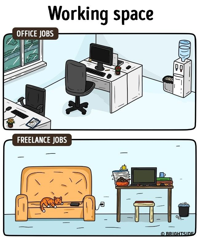 How Freelance Life Is Different To An Office Job