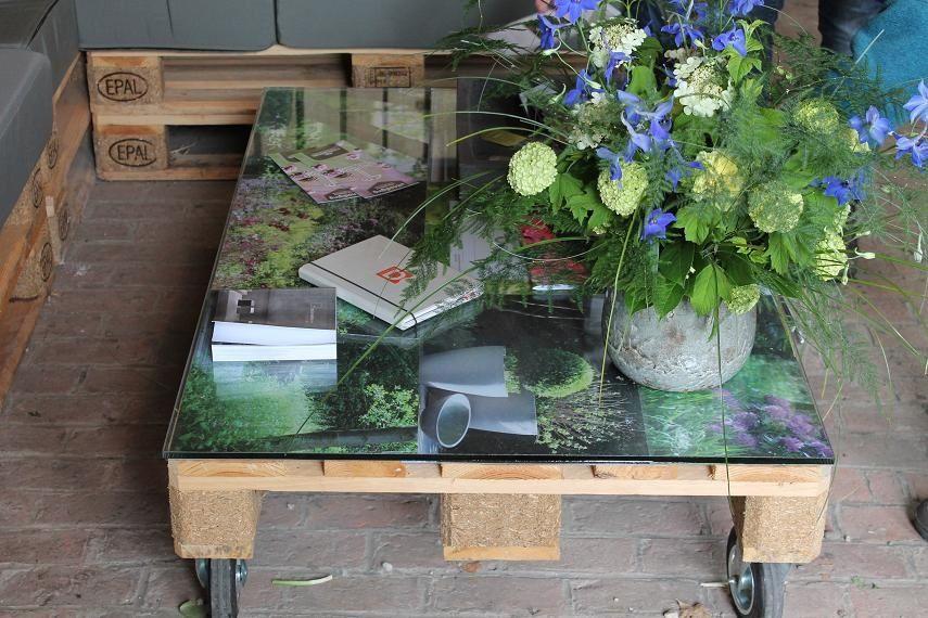 Construire un salon de jardin en bois de palette | Salon ...