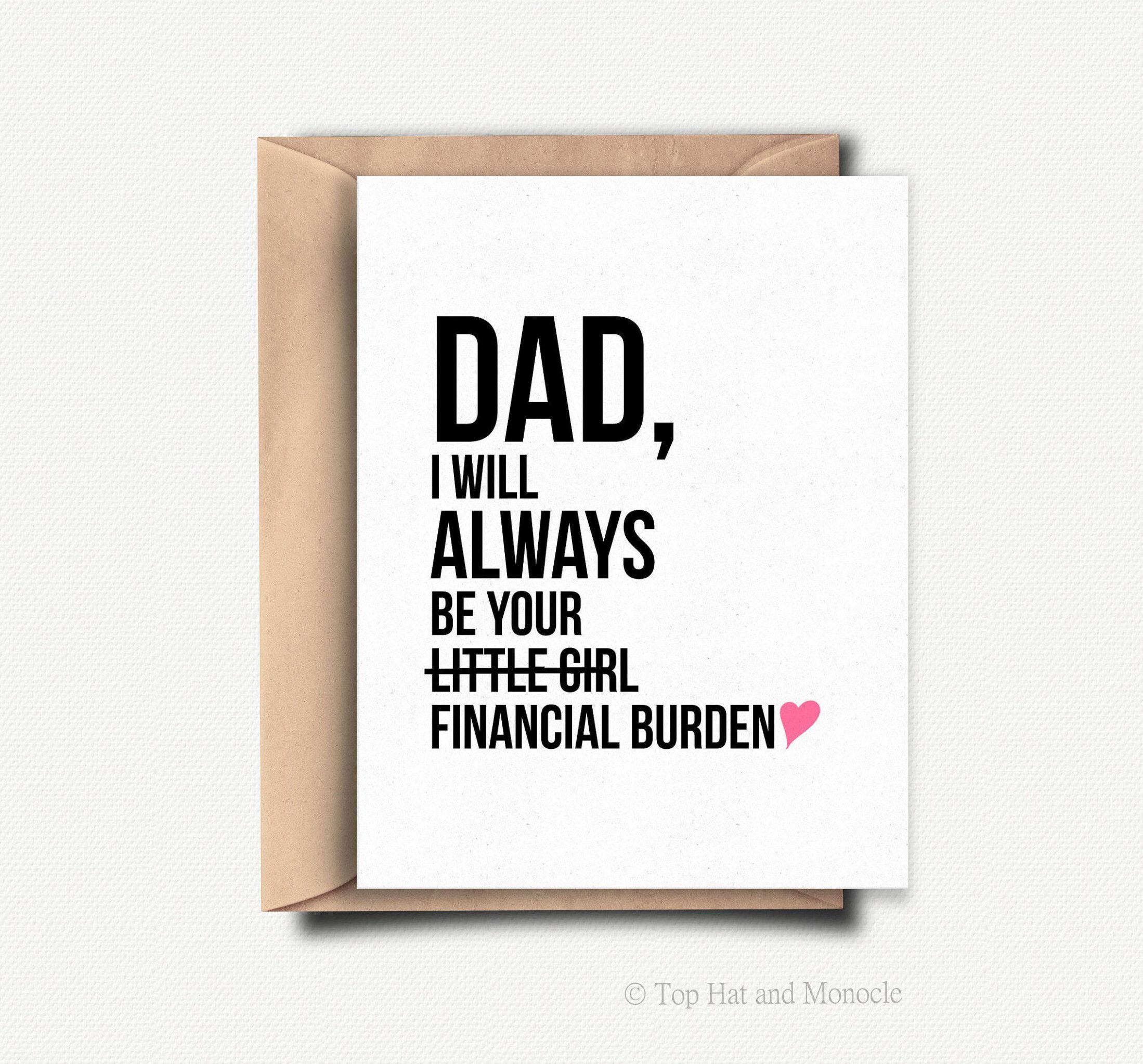 3 Best Birthday Card Ideas For Dad From Daughter  Dad birthday