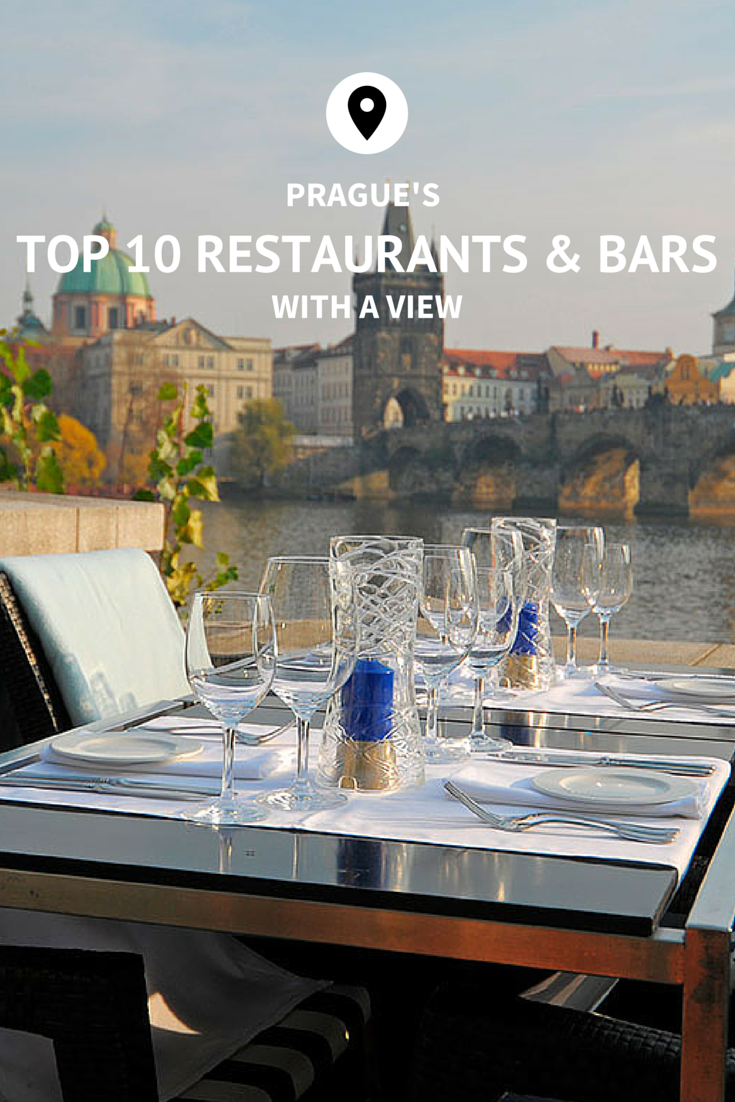 Prague's Top Restaurants With A View   Drinking around the ...