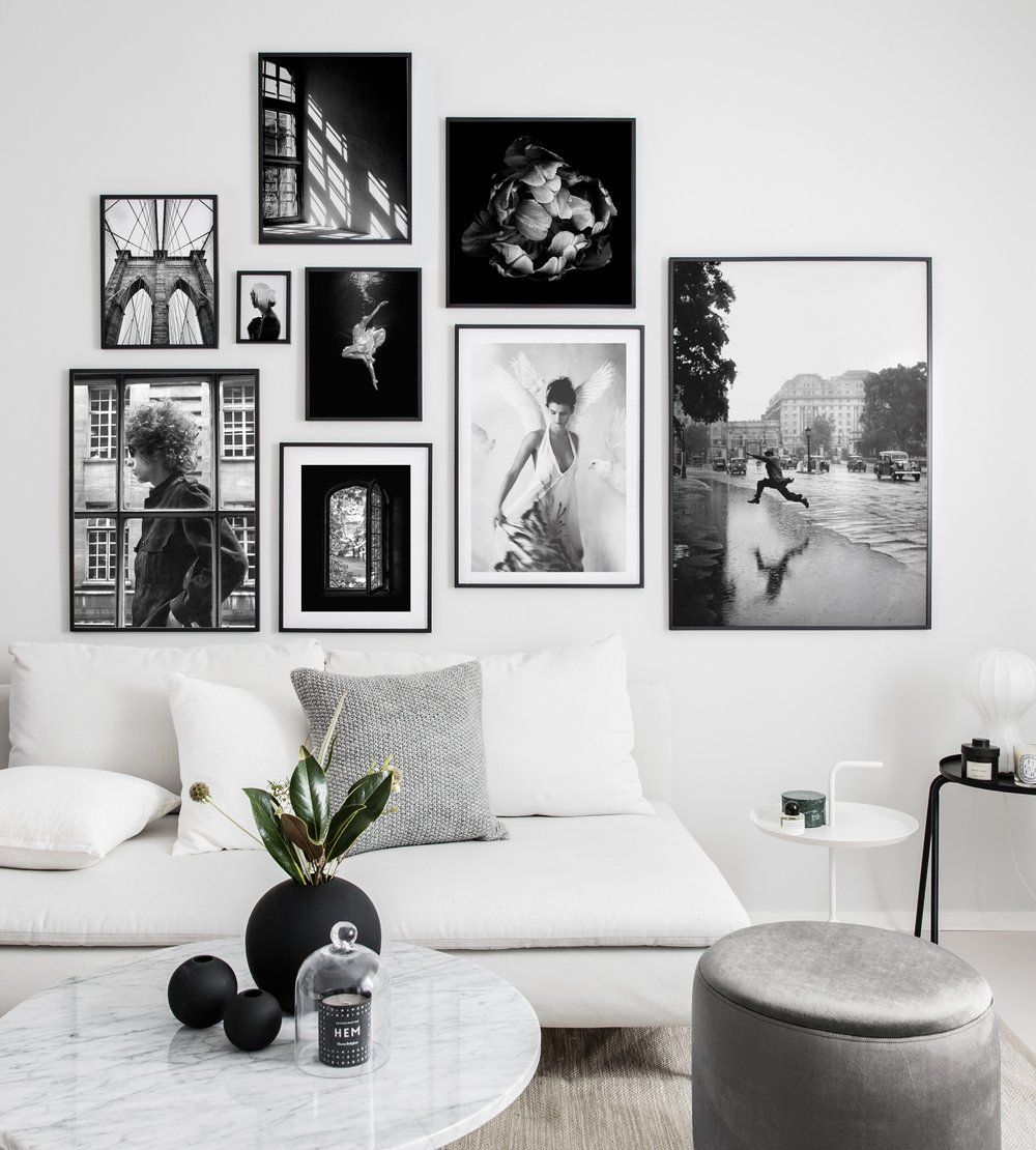 Gallery Wall Inspiration Find These Posters And More Beautiful