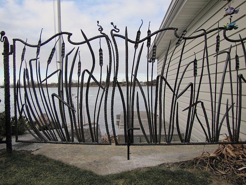 7 Mesmerizing Modern Fence Post Caps Ideas Iron Garden Gates