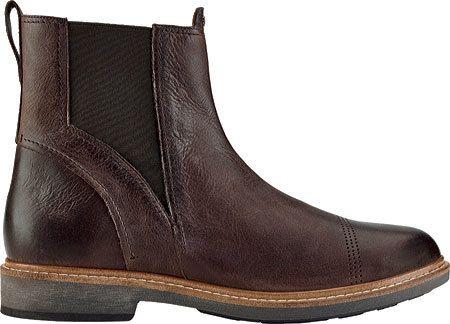 Men's OluKai Makaloa Chelsea Boot - Kona Coffee/Kona Coffee Boots
