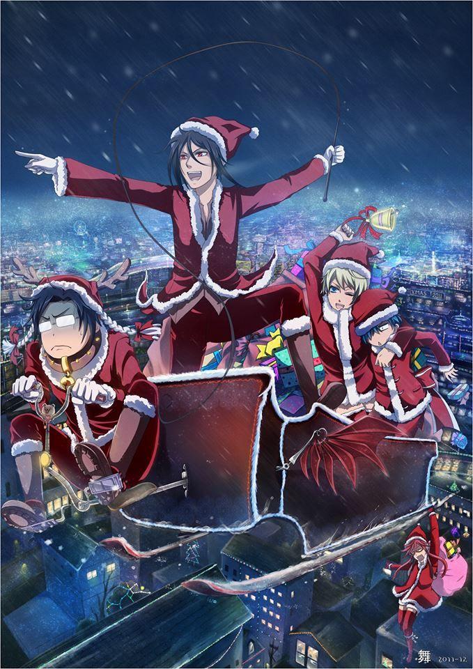 Santa black butler anime pinterest anime and weihnachten - Butlers weihnachten ...