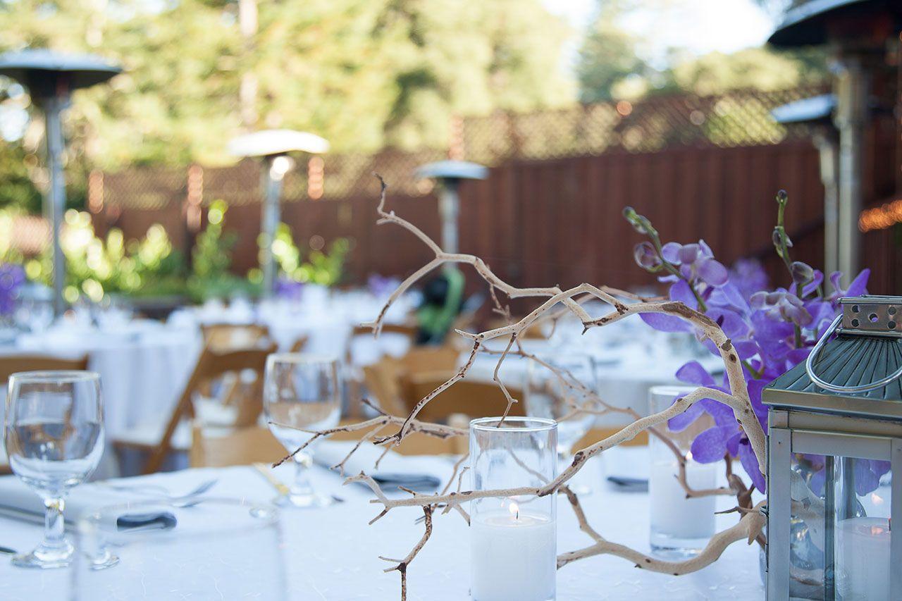 The Mountain Terrace, Woodside, CA Redwood wedding