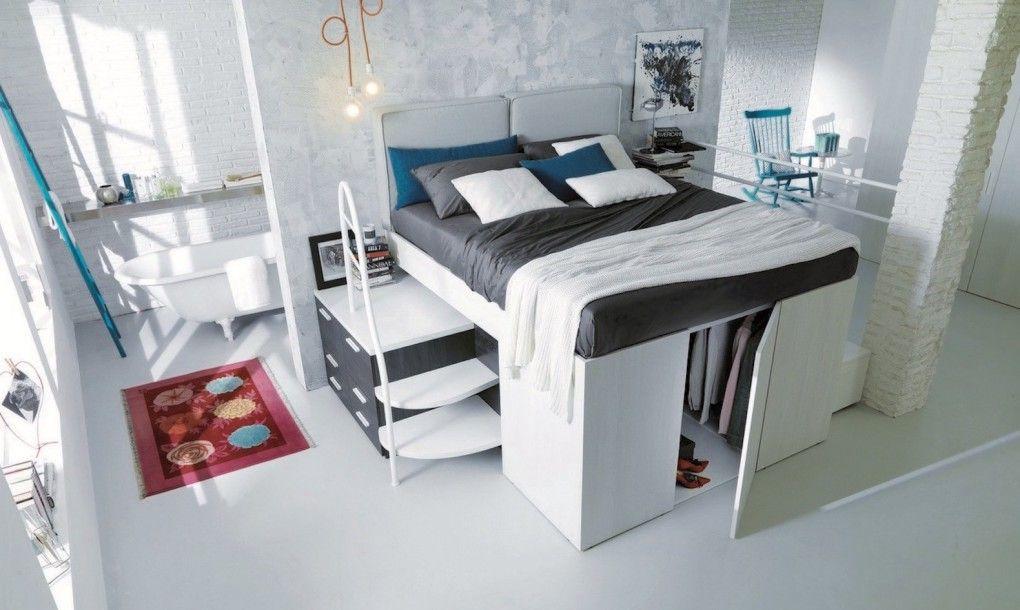 Smart E Saving Bed Hides A Walk In Closet Underneath