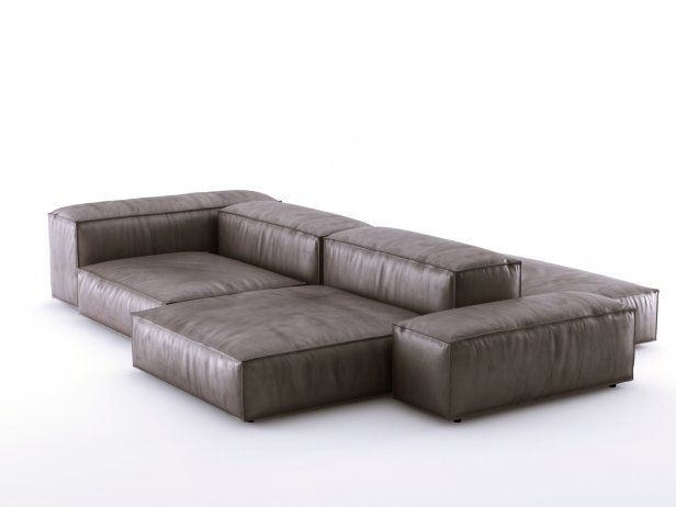 Extrasoft sofa system 3d model by Design Connected in 2020