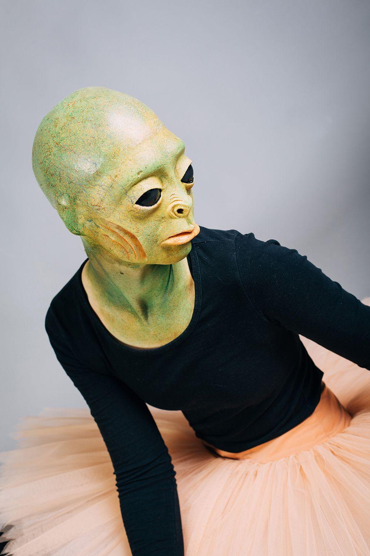 Warmschaum-Maske Froschmädchen