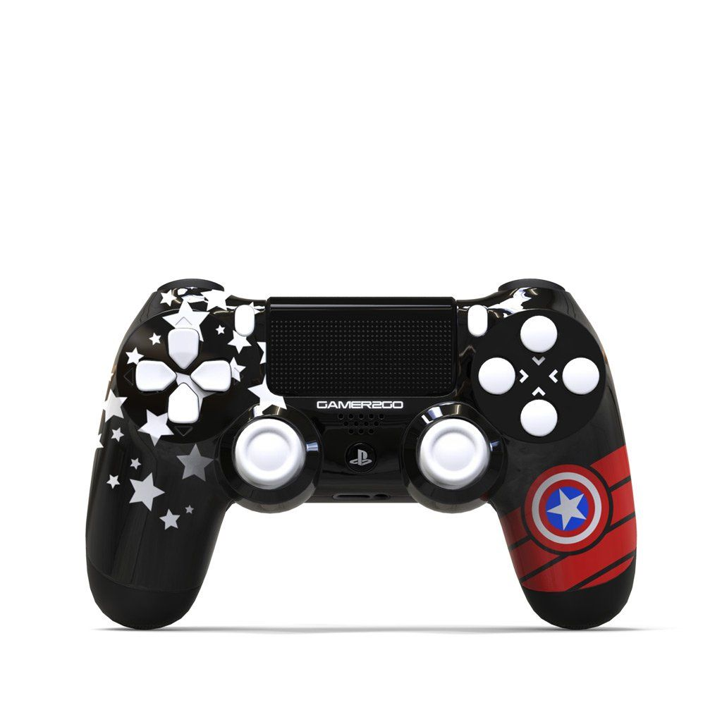 The Patriot Ps4 Controller In 2020 Ps4 Controller Custom Ps4 Controller Star Wars Xbox One