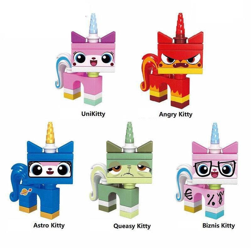 Lego Unikitty Series 1 Rainbow Uni Kitty Brand New And Sealed In Bag,