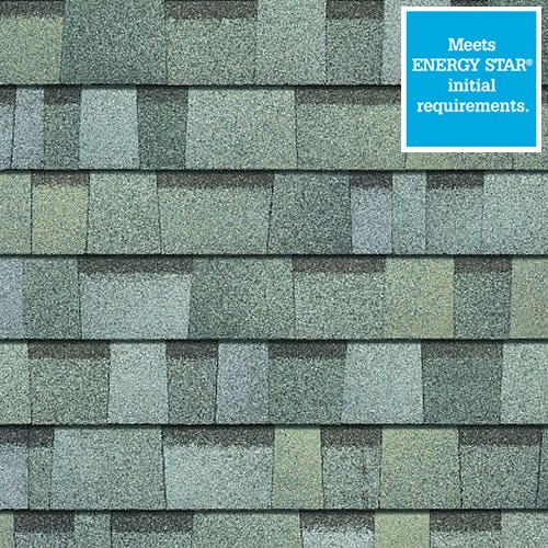 Best Duration® Premium Cool Shingles Sage Architectural 400 x 300
