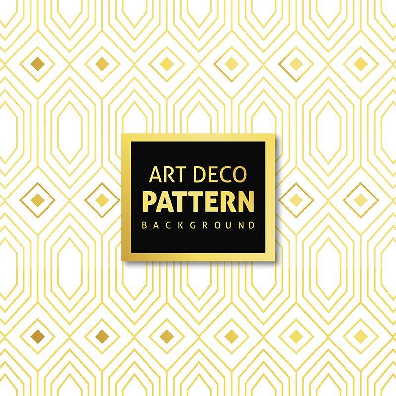 Art Deco 4 Png And Vector Art Deco Pattern Stylish Art Art Deco Fashion