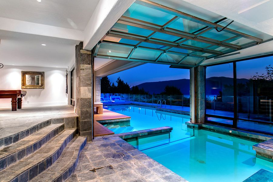 Indoor Outdoor Heated Swimming Pool At 6269 St Georges Cr In West Vancouver Bc Proudly Offered For 6 388 000 Dream Pool House Pool Houses Dream Pools