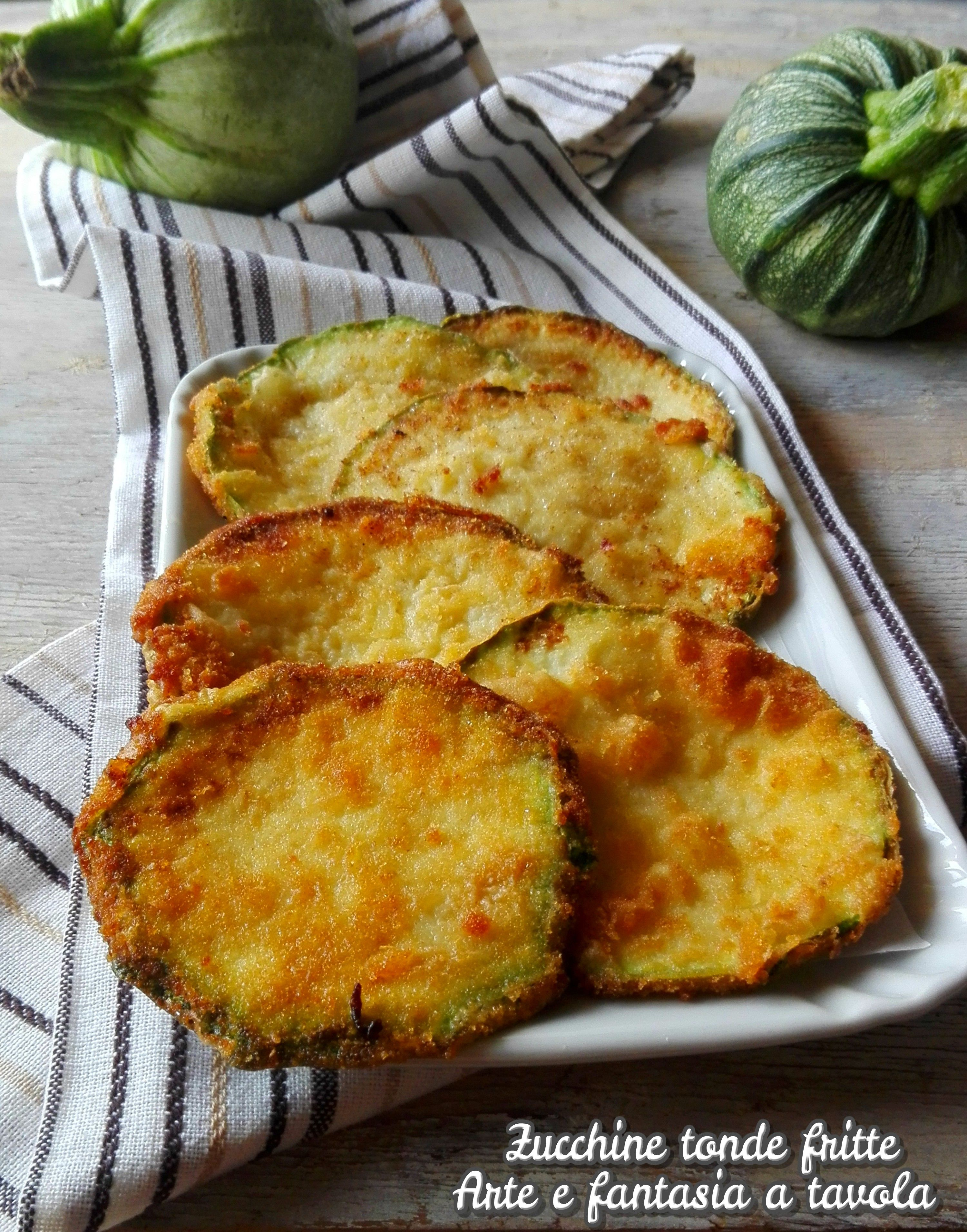 Photo of Zucchine tonde fritte