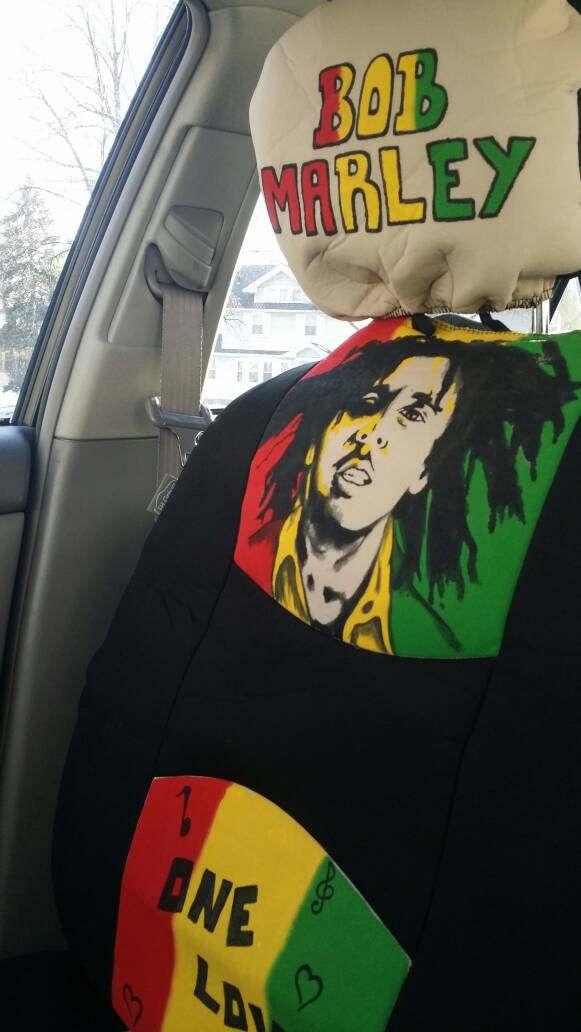 bob marley rasta car seat covers by NafaTarie on Etsy | art ...