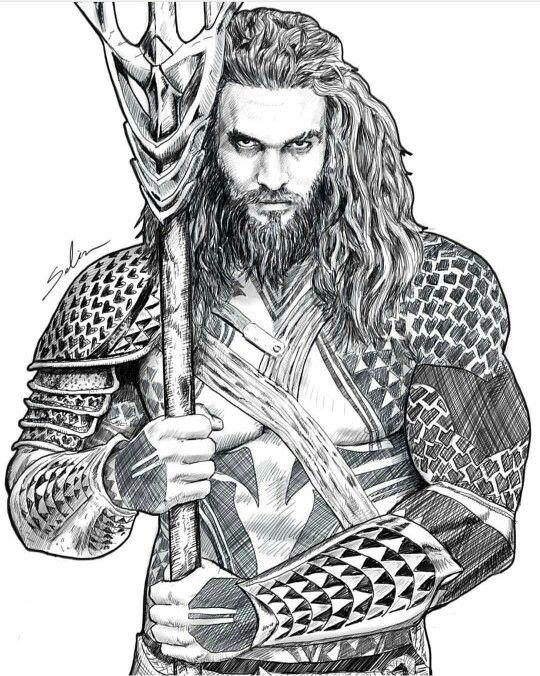 Do You Have Your Own Aquaman Aquaman Desenho Desenhos Realistas