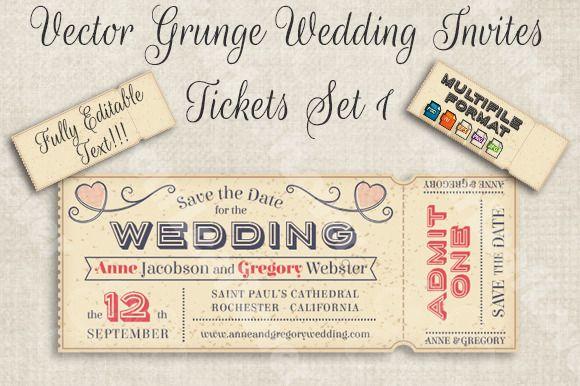 vector editable wedding invites creativework247 wedding