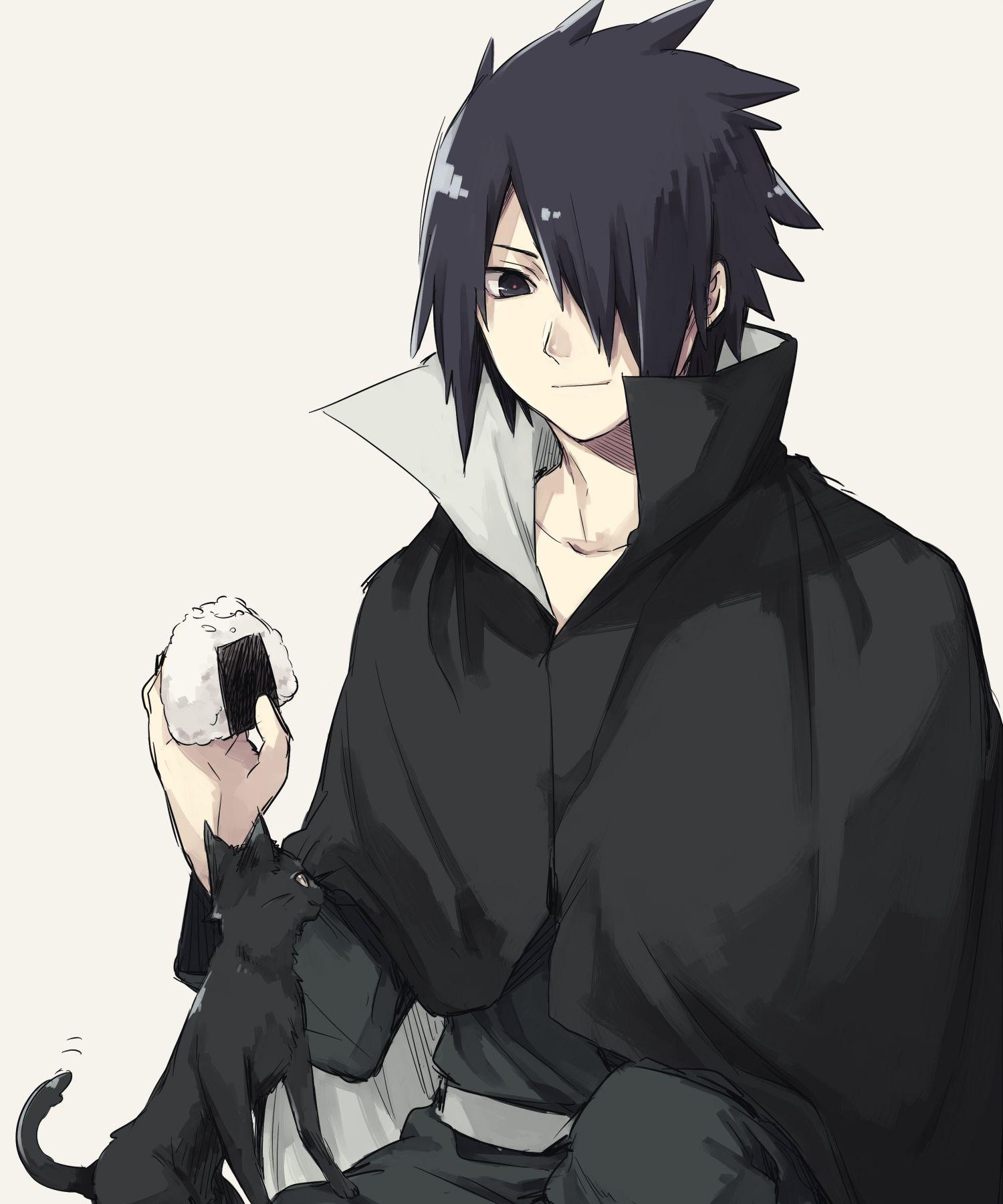 Tags: Fanart, NARUTO, Uchiha Sasuke, Pixiv, PNG Conversion, Fanart From Pixiv, Asuna (Pixiv2468371)